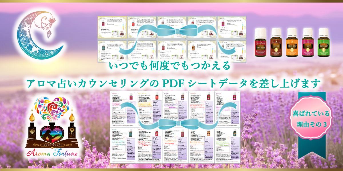 アロマ占い習得講座【本科】卒業者専用ページ